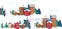 Logo Concorso ''Blistex Villaggio di Natale'': vinci gratis kit di prodotti