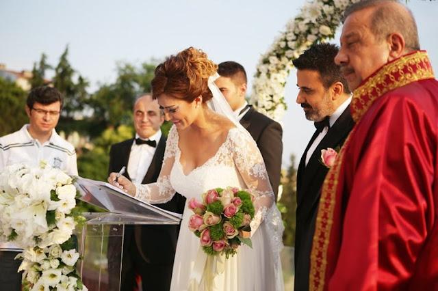 Sibel Kirer și Emrah s-au căsătorit