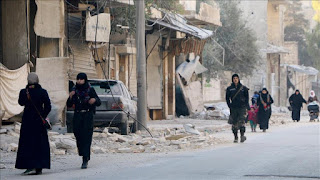 Milisi Syiah Halangi Warga Sipil Mengungsi dari Aleppo Timur