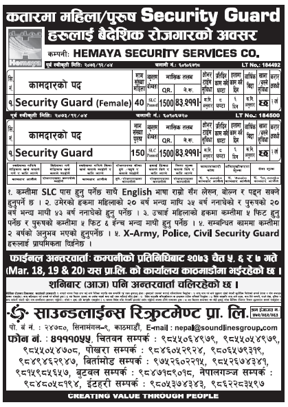 Jobs in Qatar for Nepali, Salary Rs 43,211