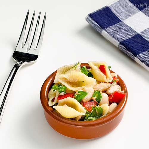 Pasta, Bean, and Tuna Salad