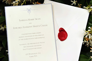 Bella Edward Invitation Wedding