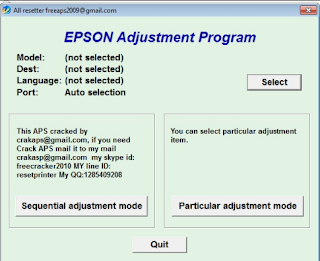 Epson L310 Resetter Download