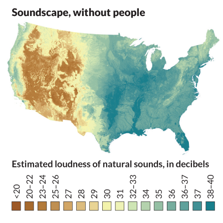 Soundscape, without people