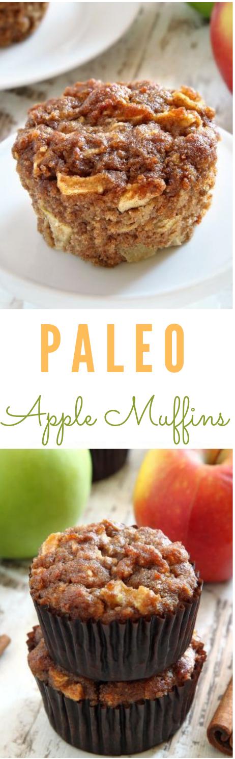 Paleo Apple Maple Muffins #dessert #paleo