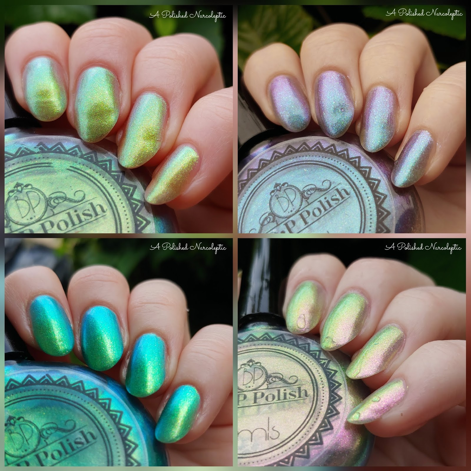 P.O.P Polish, Pastel Multichrome Oil Slick Collection - A Polished ...
