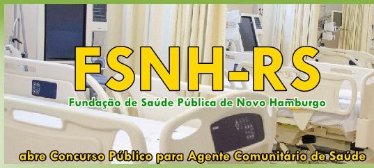 Apostila Concurso FSNH de Novo Hamburgo - Agente de Saúde