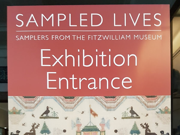 Sampler exhibition in Cambridge