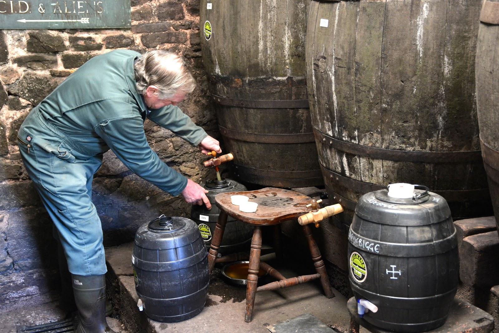 Scrumpy cider in Somerset