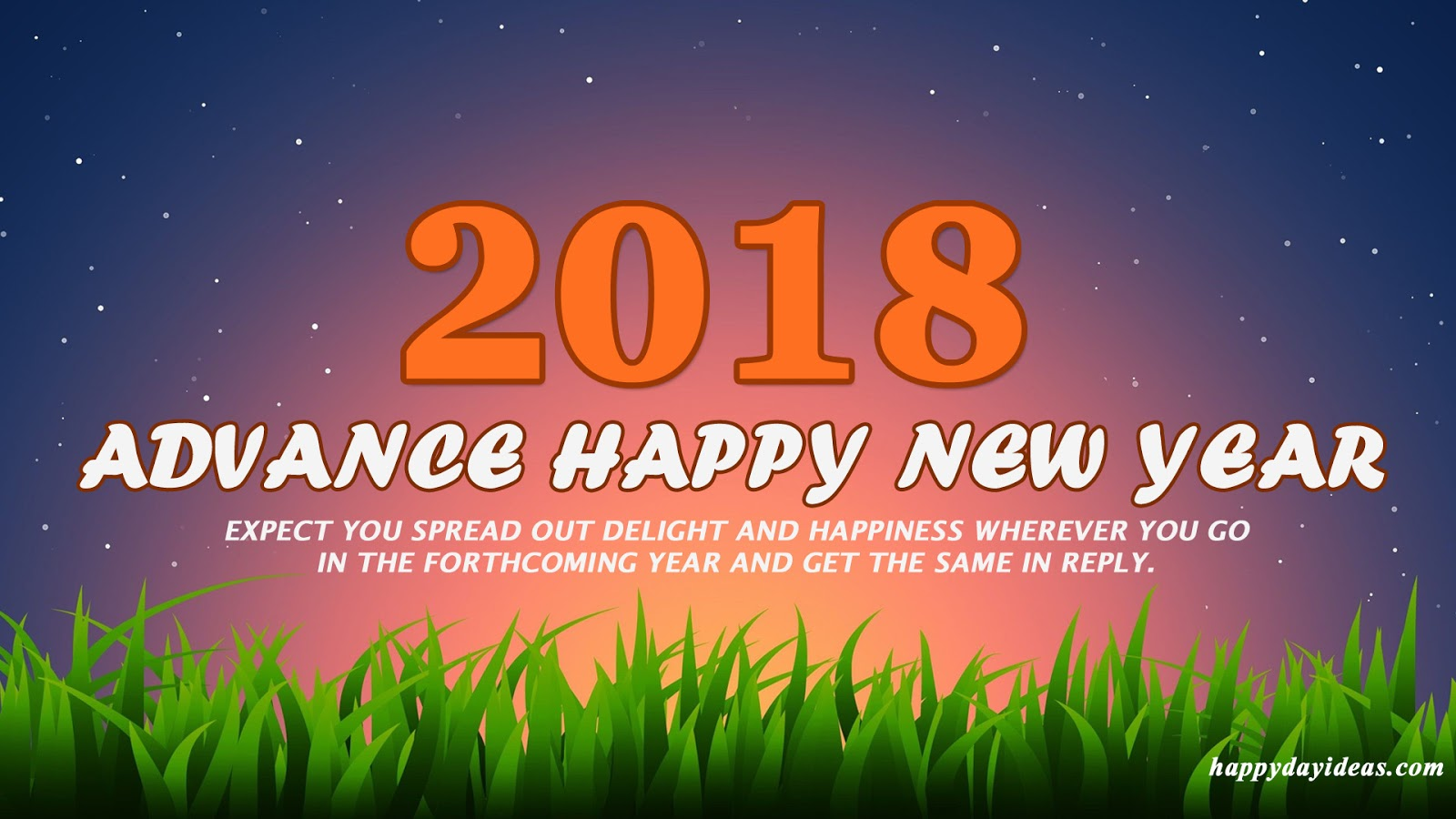 Download advance happy new year 2018 hd images pics wallpaper advance happy new year everyone m4hsunfo