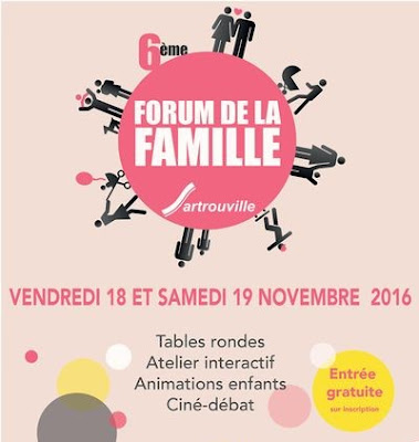 Affiche Forum de la Famille - Sartrouville