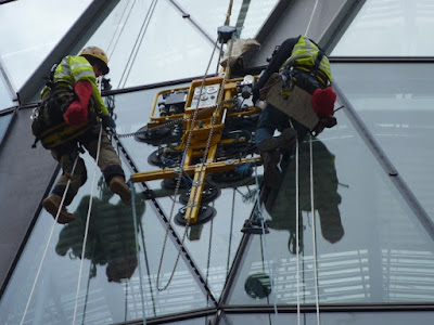 Rope access painting Sydney