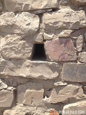 trapezoide  Zona Arqueologica Pachacamac
