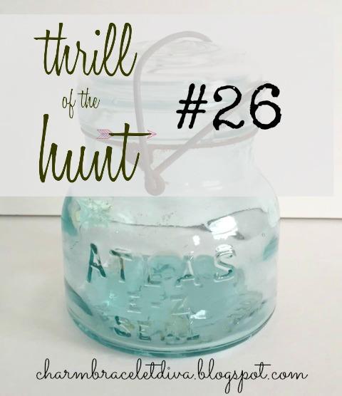 Vintage blue Atlas E-Z Seal jar