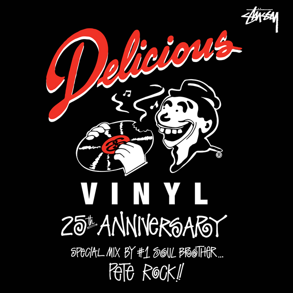 Delicious Vinyl 25th Anniversary Mix by Pete Rock (free download)