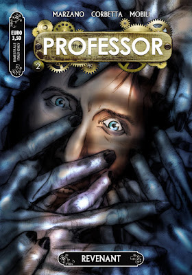 The Professor, cover del numero 2 (Revenant)