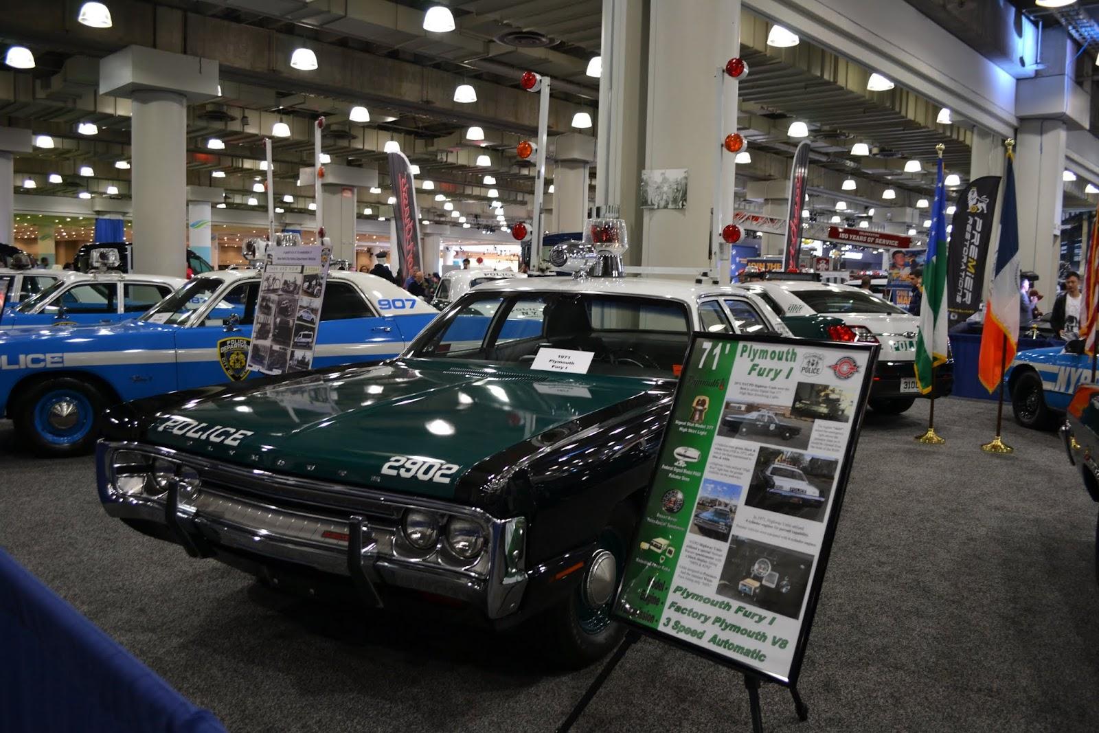 Plymouth Fury 1, 1971 года. Ежегодное автошоу в Нью-Йорке - 2015 (New York International Auto Show - 2015)