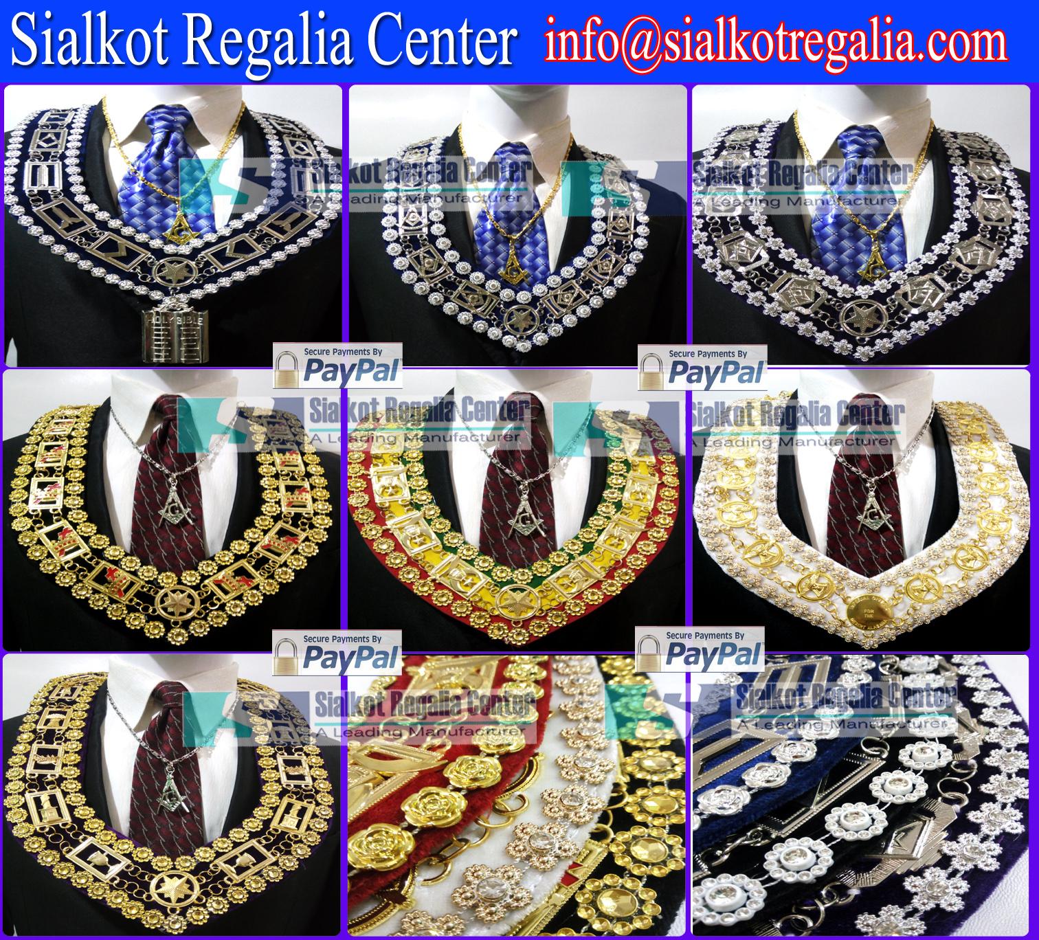 Sialkot Regalia Center : MASONIC REGALIA BLUE HOUSE METAL