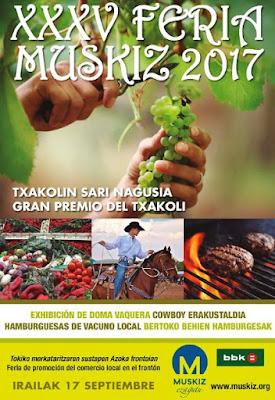 Muskiz celebra el domingo su XXXV Feria Agrícola