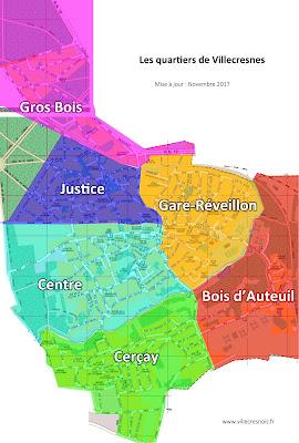 Quartiers de Villecresnes