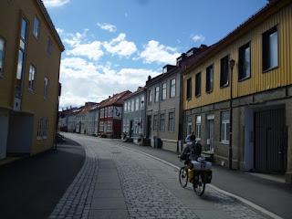 Entrada en Trondheim