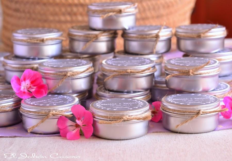 Detalles para bodas velas perfumadas