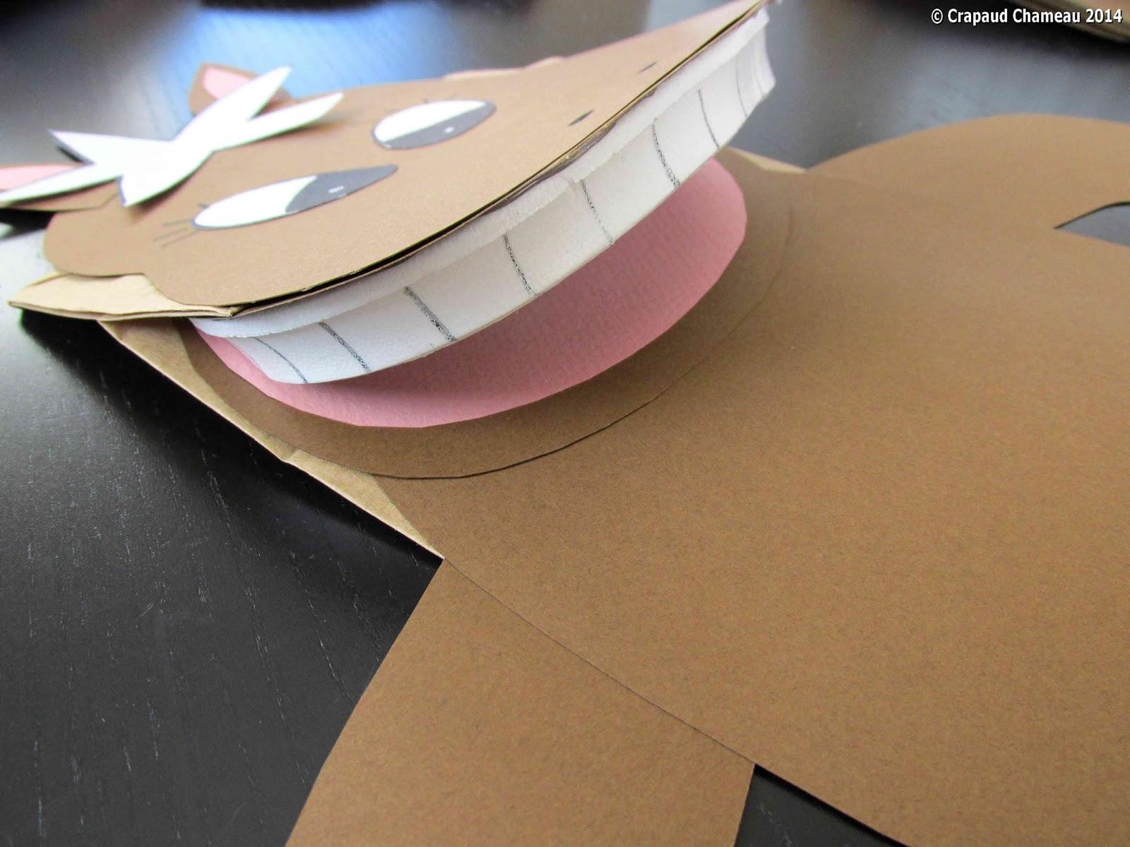 Fabriquer une marionnette main crapaud chameau - Fabriquer une marionnette articulee ...