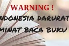 3 Penyebab Minat Baca Siswa di Indonesia Masih Tergolong Rendah