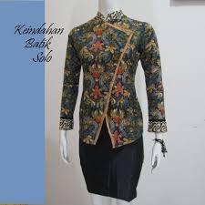 Model Baju Batik Kerja Kantor Terbaru
