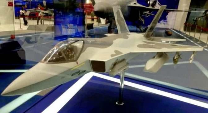 Gambar bentuk fisik pesawat KFX/IFX Indonesia-Korea