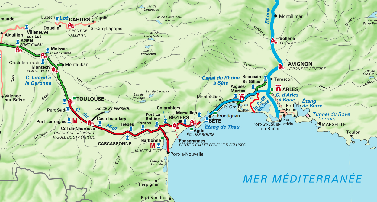 Narrowboat Annie: Canal du Midi Adventure 19-29 June 2017 unfinished