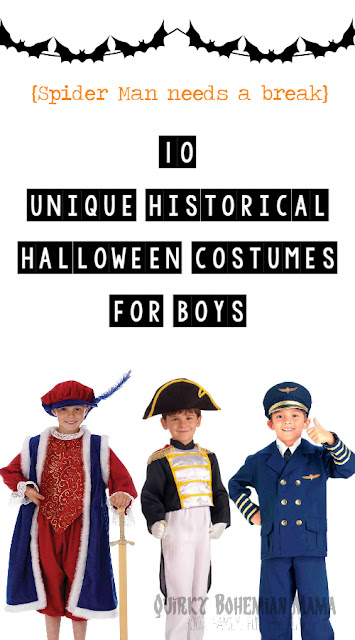 10 unique historical halloween costumes for boys