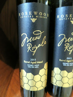 Rosewood Mead Royale Honey Wine 2015 (88 pts)