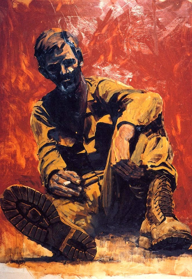After the Battle Tan Hep, Vietnam 1967 By Michael R. Crook
