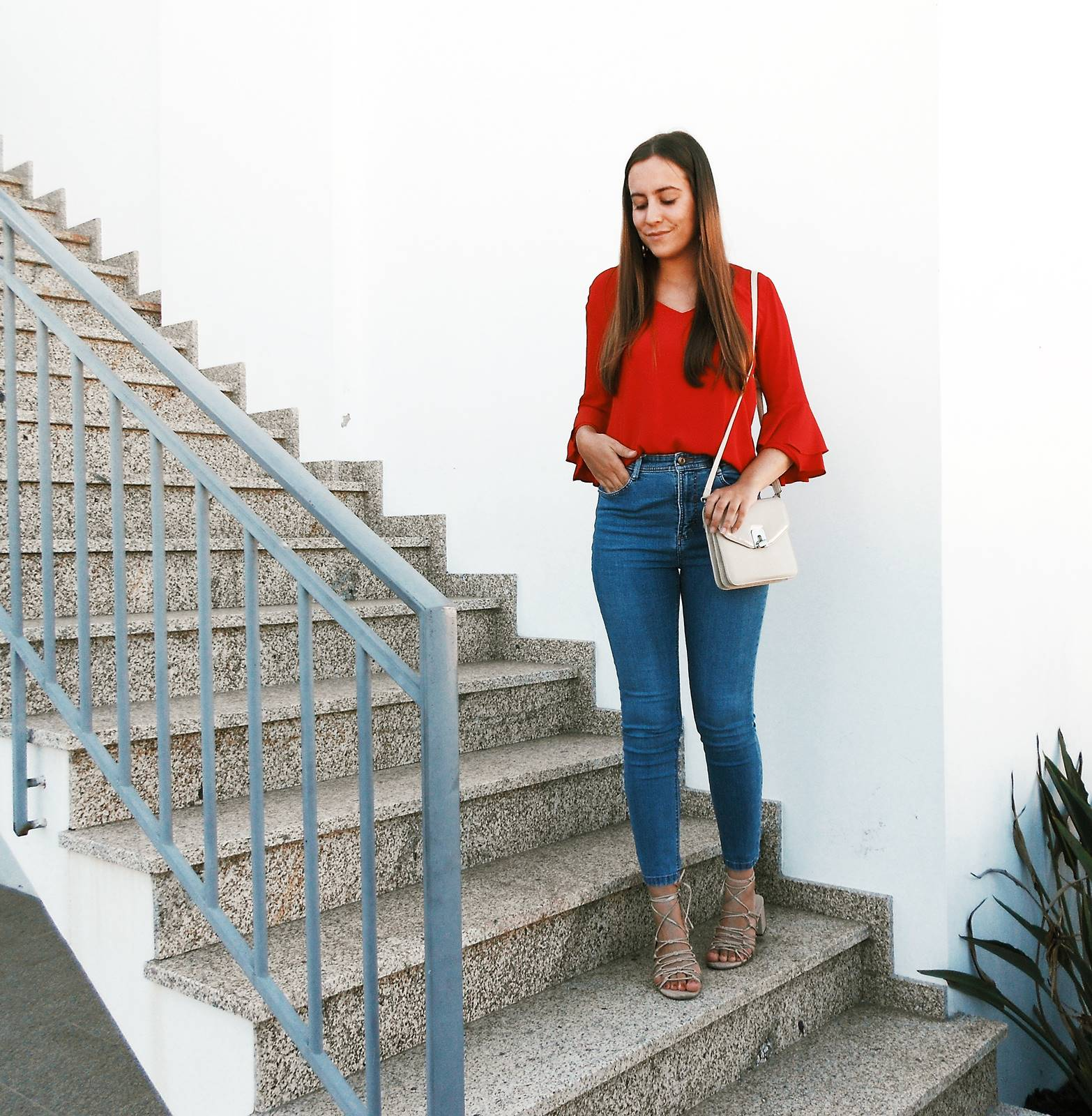 OOTD | RED FOR FALL