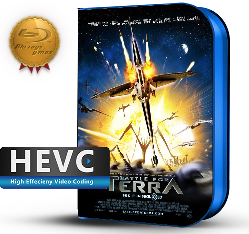 Battle for Terra (2007) 1080P HEVC-8Bits BDRip Latino/Ingles(Subt.Esp)(Aventura, Animacion)