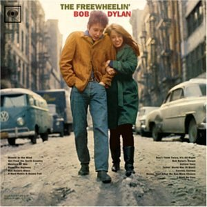 The Freewheelin' Bob Dylan, LP cover