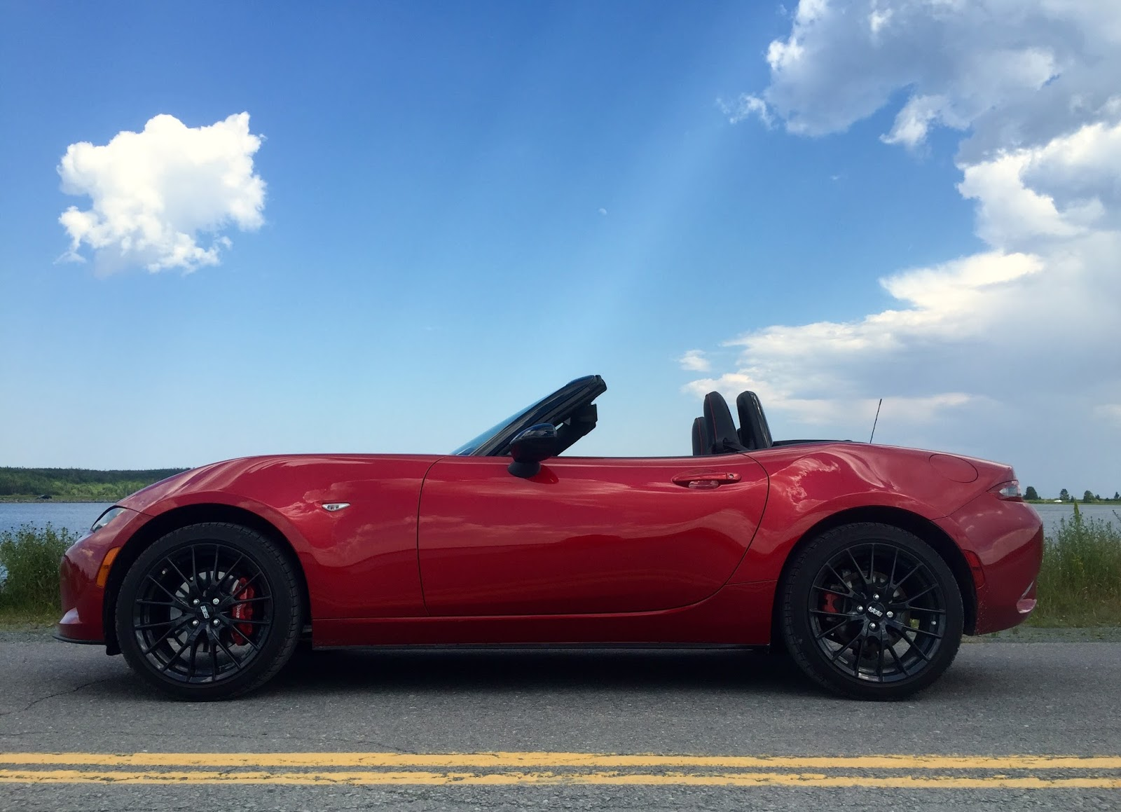 2016 mazda mx 5 gs rainbow haven soul red