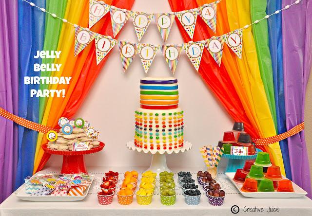 Jelly Bean Birthday Party Ideas