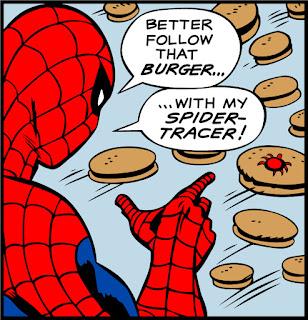 Spider-Man's Spider-tracer