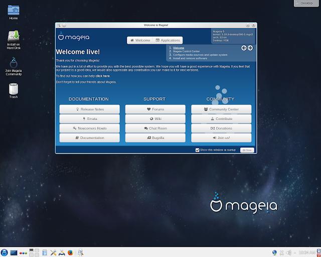 """GNU/Linux: Mageia 6 """"Sta1"""" é oficialmente lançado e finalmente muda para o GRUB2!"""