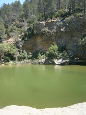 Los Charcos de Quesa, Quesa, Comunidad Valenciana, España