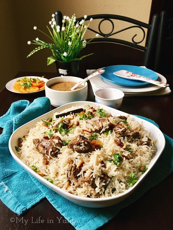 Bedouin Lamb Rice