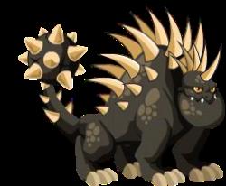 dragon erizo adulto