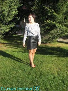 look falda cuero 2