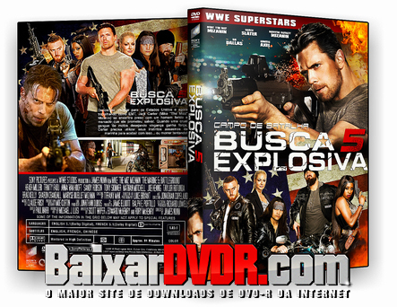 Busca Explosiva 5: Campo de Batalha (2017) DVD-R OFICIAL