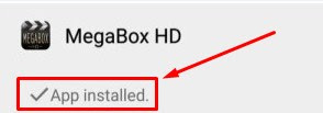 Install Megabox HD Apk For Android