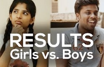 RESULTS Girls vs. Boys | 1 Kg Biriyani