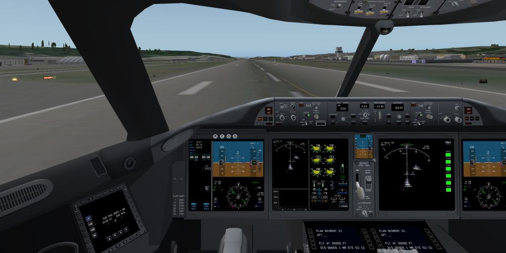Urban's X-Plane experience: Heinz's Boeing 787 - a quick view
