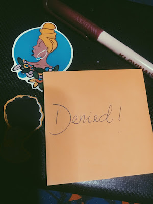 stick on paper
